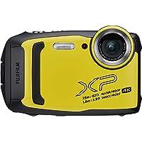 Fujifilm XP140 Appareil Photo Numérique Etanche (3 pouces - 16.4 Mpix - Zoom 5X - Bluetooth - WiFi) Jaune