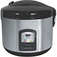 Adler AD 6406 Cuiseur à riz, 1000 W, 1.5 liters, Noir, Acier Inoxydable