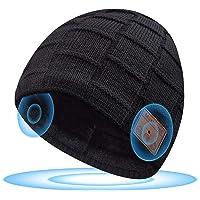 Cappello Bluetooth Regali Natale, Cappello Uomo Invernali con Cuffie Bluetooth, Idee Regalo Uomo Donna Berretto…
