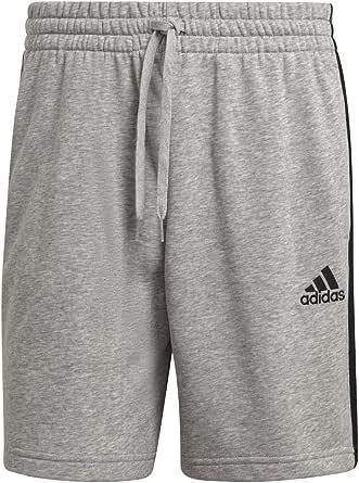 adidas GK9599 M 3S FT SHO Shorts Men's Medium Grey Heather/Black L/L