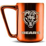 Duck House NFL Fan Shop NFL Ceramic Coffee Mug with Metallic Finish | Pro-Grade Ceramic | Laser Engraved Team Logo | BPA-Free