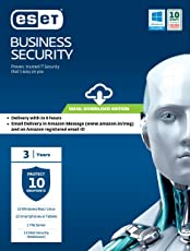 ESET Business Security - 10 users, 3 years (Email Delivery in 2 hours- No CD)