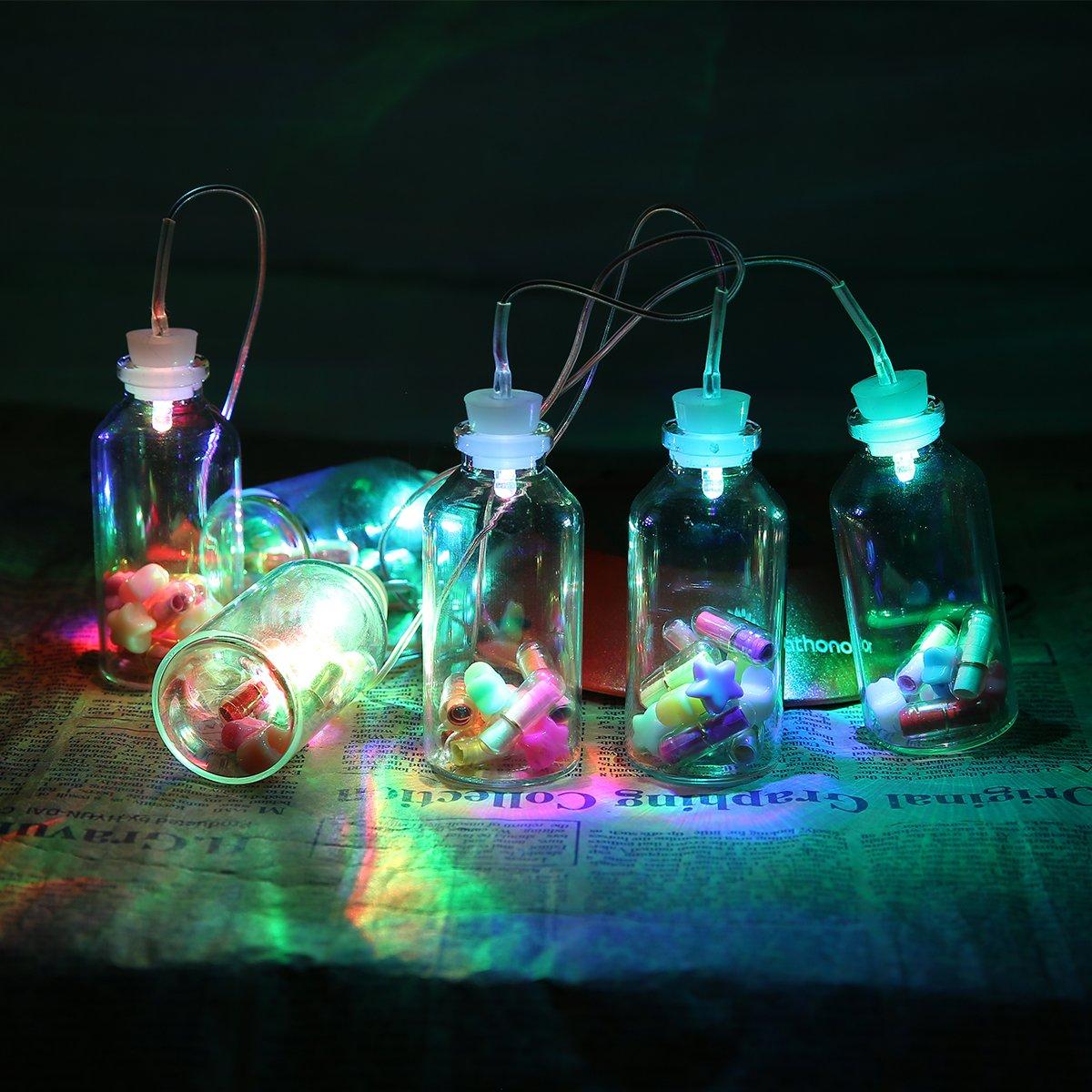 Carrillón viento LED Solar cambiante color Pathonor Carrillones para jardín Carrillones LED para jardín, patios, césped, la sala de estar, decoraciones de jardín
