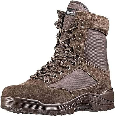 Mil-Tec - Tactical Boot M.ykk Zipper, Anfibi Uomo