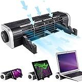 KLIM™ Zephyr + Hyper Refroidisseur Triple Fonction Et Puissant Ventilateur de Poche + Nouveauté 2020 + Silencieux…
