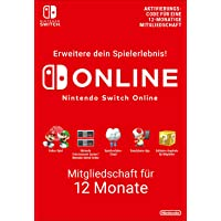 Nintendo Switch Online Mitgliedschaft - 12 Monate | Switch Download Code