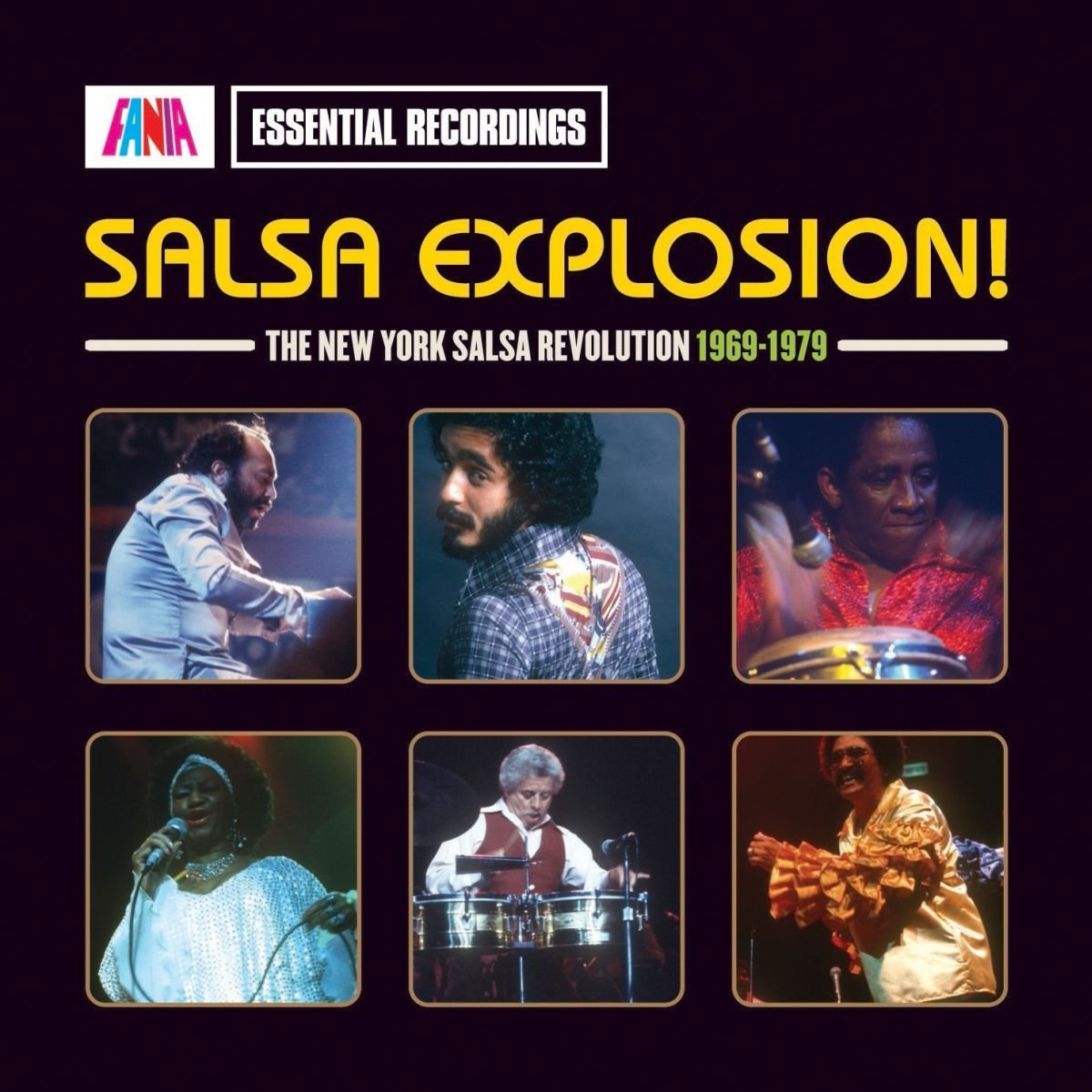 FANIA ESSENTIAL RECORDINGS SALSA EXPLOSION: THE SALSA REVOLUTION 1969-1979