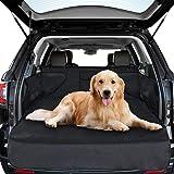 Soulcker Kofferraumschutz Hund Kofferraum Schutz Hund Wasserdichte Kofferraumdecke für Hunde Auto Universale Hundeschutzdecke mit Seitenschutz Schutzdecke für Kofferraum Anti Rutsch Abriebfest