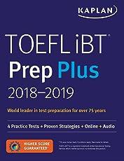 Kaplan Toefl iBT Prep Plus 2018-2019