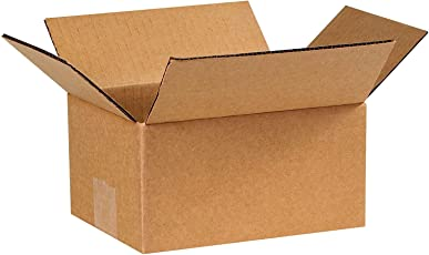 Brown/Packaging Corrugated 11 x 6 x 5.5 inch 3 Ply Pack of 25 Boxes by Ezellohub **Delivery Free**