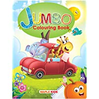 Jumbo Colouring Book - 64 pages - Activity Colouring Book for 3 to 5 years old kids - Gift to children for painting…