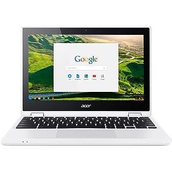 Acer Chromebook R 11 CB5 – 132t de C732 29,5 cm (11,6 pulgadas HD) portátil Convertible (Intel Dual Core N3150, Google Chrome Os) weiß 32 GB (eMMC) ...