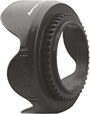 Sonia 49mm Flower Lens Hood Screw Mount for Canon Nikon Sony Olympus Pentax & All Other Digital SLR Cameras