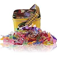 Wonder Clips-Pack de 100 pinces à coudre polyvalentes Accessoires pour coudre, piquer, crocheter, tricoter et tricoter…