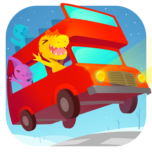 Dinosaur Bus Free (Kostenlose Monster Bus)