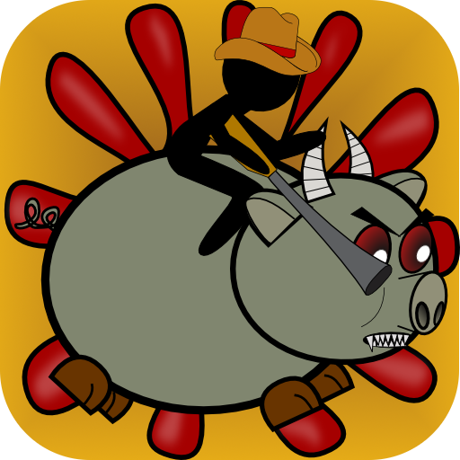 Monster Zombie-Schwein Rodeo - Monster Zombie Pig Rodeo -