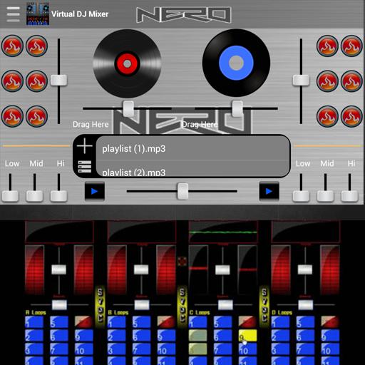 Virtual DJ Mixer - Dj-mixer-app