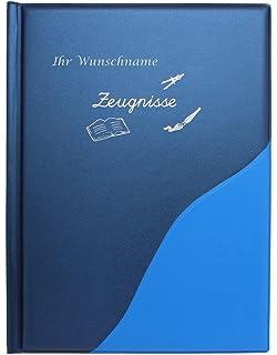 U-Heft H/ülle mit Namen aus Wollfilz mit Tasche f/ür ImpfpassWenn aus Liebe Leben wird anthrazit//hellblau