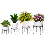 TrustBasket Aesthetic Planter Stands - Set of 4