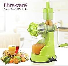 Floraware Plastic Hand Juicer, Green (IPL- Green)