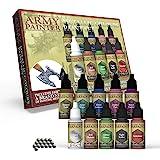 The Army Painter | Metallic Paint Set | 10 Peintures Métallisées et 16 Billes de Mélange pour collectionneurs de Figurines Wa