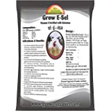 Growel Grow E-Sel Vitamin E with Selenium for Poultry, Goat, Cow and Farm Animals (200 g)