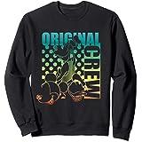 Disney Mickey Donald and Goofy Original Crew Gradient Sweatshirt