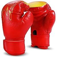 KDXBCAYKI 6//10 OZ Enfants Adultes Gants de Boxe Sanda Se Battre Muay Thai Sandbag Formation