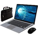 Notebook Portatile 14,1 Pollice Inter ® MEBERRY - Ultrasottile Windows 10 PC Portatile 6 GB RAM & 64 GB Memoria - WI-FI 802.11AC| Bluetooth 4.0| Aux 3.5mm| USB 3.0 / 2.0| HDMI Corpo in Metallo Grigio