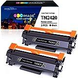 GPC Image TN2420 TN-2420 Cartucce Toner Compatibili per TN2410 TN-2410 per Brother MFC-L2710DW L2710DN L2730DW L2750DW, HL-L2310D L2350DW L2375DW L2370DN, DCP-L2510D L2530DW L2550DN (Nero, 2-Pack)