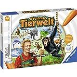 Ravensburger tiptoi 00513 - Spiel: Abenteuer Tierwelt / Tierwissen erfahren und Laute erkennen: Aufregendes Konzentrationsspiel für Kinder von 4 - 8 Jahre