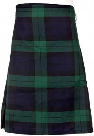 New Scottish Mens Stag Casual Party Kilt BNWT - Waist Sizes 30-44 - 5 Colours!