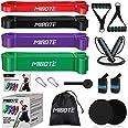 MIBOTE Fitnessbanden, weerstandsbanden, set van natuurlatex, gymnastiekband, trainingsband voor stretching, krachttraining, f