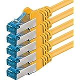 Netwerkkabel CAT6a CAT 6a hoge kwaliteit ethernet lan kabel S-FTP dubbel afgeschermd PIMF 500MHz halogeenvrij patchkabel