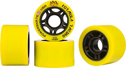 "Powerskate ""Formula Racing"" Quad Skate Wheels"
