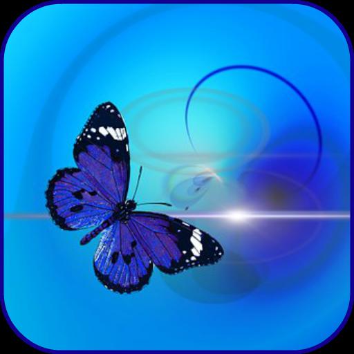 Abstrakte Schmetterlinge -