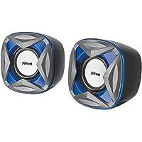 Trust Xilo Enceintes 2.0 - Alimentation USB - 8 Watt - Bleu