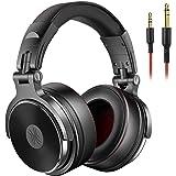 OneOdio Casque Audio HiFi Casque Audio Studio, Casque de Monitoring, Casque Audio Filaire avec Les Haut-Parleurs de 50 mm