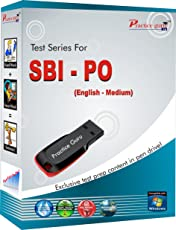150 Offline Practice Test Papers for SBI PO (Medium: English, Pen Drive)