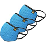 EUME Protect+ 95 Reusable and Washable Face Mask (UNISEX) - (Blue, Pack of 3)