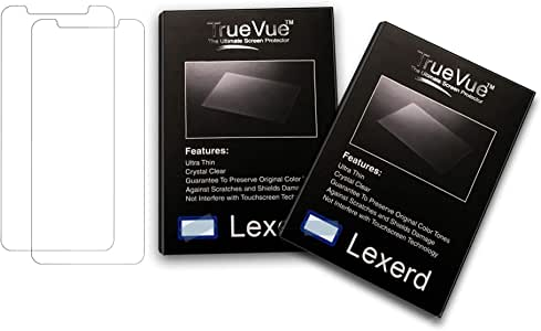 Lexerd Compatible with Sony DCR-H52 TrueVue Crystal Clear Digital Camcorder Screen Protector