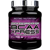 Scitec Nutrition BCAA-Xpress, Essential BCAA amino acid drink powder, sugar-free, gluten-free and lactose-free, 700 g, Apple