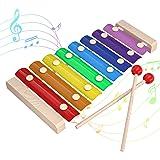 INFANT MOMENT Xylophone coloré, Jouets intellectuels d'éducation STEM suscitant Le Talent Musical, mélodie Musicale pour Enfa