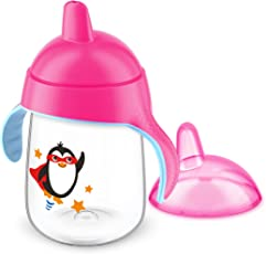 Philips Avent Premium Spout Cup 340ml - Pink (Single Pack)