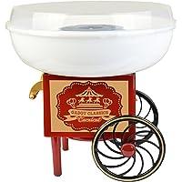 Gadgy ® Machine à Barbe à Papa Chariot | Appareil Cotton Candy | Utiliser Sucre Ordinaire ou Bonbons | Fete Foraine…