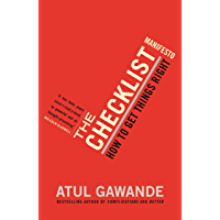The Checklist Manifesto: How To Get Things Right (English Edition)