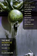 The Best Horror of the Year Volume 6 Kindle Edition