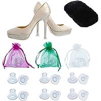 Protezione per Tacchi Alti da MEGON – Copri Tacchi per Scarpe da Donna – Set di 6 Paia -Universali,- Perfetti per…