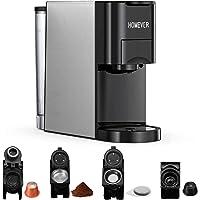 Machine à café multi-capsules Homever 4 en 1, adaptée aux grandes/petites capsules de café, capsules de thé et café en…
