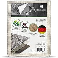 Comfort-Grip Premium Antirutsch Teppichunterlage -OHNE WEICHMACHER (60 x 100 cm, Haftgitter-Natur)